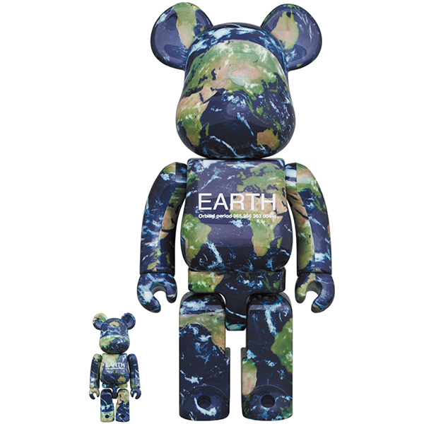 EARTH BE@RBRICK 100% & 400%