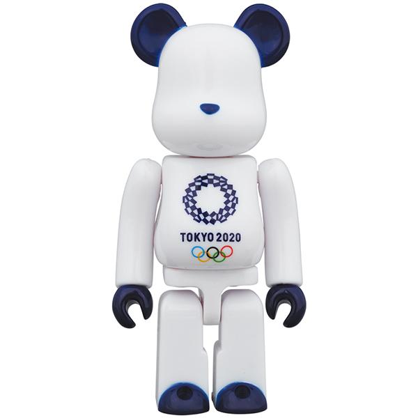 ベアブリック 100% (東京2020オリンピックエンブレム)