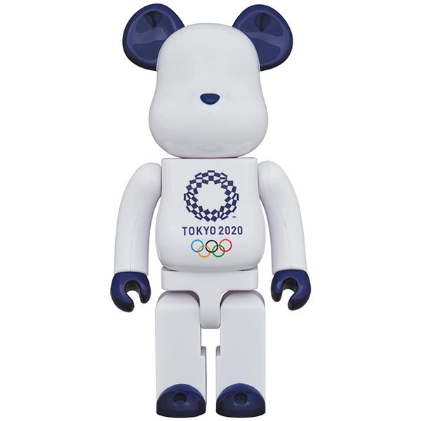ベアブリック 400%(東京2020オリンピックエンブレム)