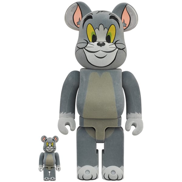 BE@RBRICK TOM フロッキー Ver. 100% & 400% (TOM AND JERRY)