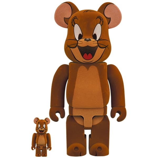 BE@RBRICK JERRY フロッキー Ver. 100% & 400% (TOM AND JERRY)