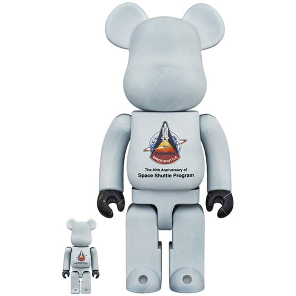 SPACE SHUTTLE BE@RBRICK 100% & 400%